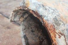 Fracture de Bonna Pipe image stock