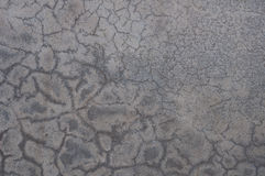 Fractured beton. A Fractured cement wall for background Stock Images
