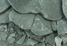 Fractured slate texture. For background Stock Photo