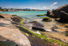 Frade Island Vitoria Royalty Free Stock Photography