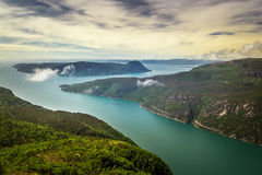 Frafjord Emerald Waters Stock Afbeelding