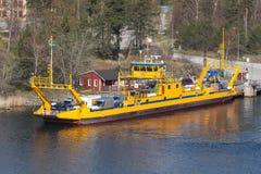 Fragancia με STA τα οδικά πορθμεία, Σουηδία Στοκ εικόνες με δικαίωμα ελεύθερης χρήσης