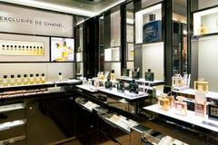 Fragancia de Chanel imágenes de archivo libres de regalías