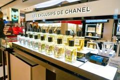 Fragancia de Chanel fotos de archivo libres de regalías