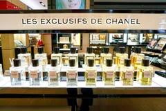 Fragancia de Chanel fotografía de archivo libre de regalías