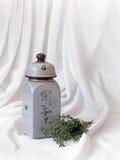 Fragancia del tomillo fresco fotografía de archivo