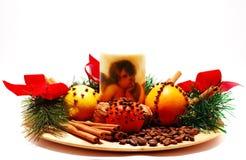 fragant Boże Narodzenie dekoracja zdjęcie royalty free