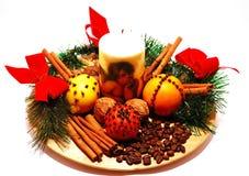 fragant Boże Narodzenie dekoracja obraz stock