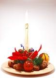 fragant Boże Narodzenie talerz zdjęcia stock