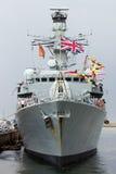 Fragata de la marina Imagen de archivo libre de regalías