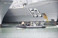 Fragata dos Foto de archivo