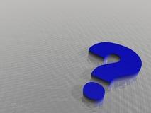 Frage Stockbild
