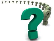 Frage. Lizenzfreie Stockbilder