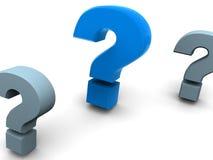 Frage. Lizenzfreie Stockfotos