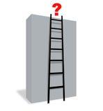 Frage auf die Oberseite Lizenzfreies Stockbild