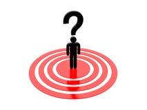 Frage Mark Concept Graphic Stockbild