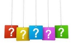 Frage Mark And Faq Concept Lizenzfreie Stockfotografie