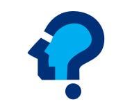 Frage Mark Icon Design Stockfotografie