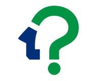 Frage Mark Icon Design Stockbilder
