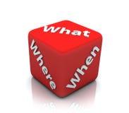 Fragebogen Lizenzfreies Stockfoto