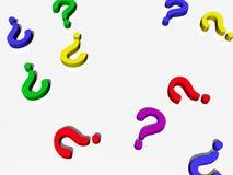 Fragen? Lizenzfreie Stockfotos