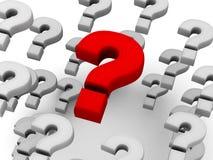 Fragen Lizenzfreie Stockfotos
