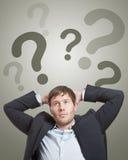 Fragen lizenzfreies stockfoto