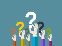 Fragen Lizenzfreie Stockbilder