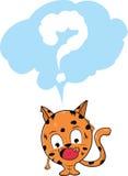 Fragen-Farbe Stockfotografie