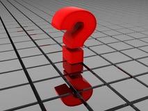 Fragen-Zeichen. Stockfotografie
