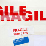 Fragile immagine stock
