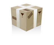 Fragile box Stock Photos