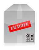 Fragile box Stock Images