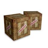 Fragile box Stock Photo