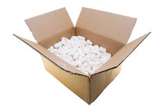 Fragile Contents Stock Image