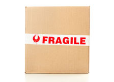 Fragile delivery service Royalty Free Stock Photos