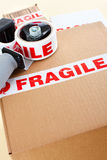 Fragile delivery service Royalty Free Stock Photography