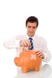 Fragile economy Stock Image