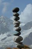 Fragile equilibrato immagine stock