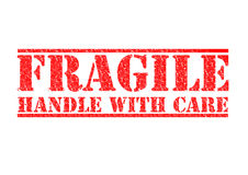 FRAGILE - Handle With Care Royalty Free Stock Photos