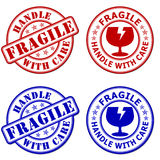Fragile - handle with care Royalty Free Stock Photo