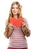 Fragile heart Stock Photo