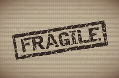 Fragile label Stock Images