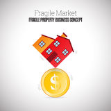 Fragile Property Business Stock Photos