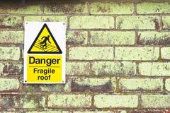 Fragile roof Stock Photo