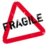 Fragile rubber stamp Stock Image