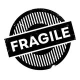 Fragile rubber stamp Stock Images