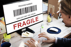 Fragile Sensitive Technology Business Concept Stock Photography