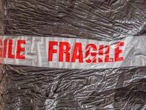 Fragile sign Stock Photos