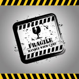 Fragile signal Royalty Free Stock Images